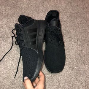 All Black Adidas Sneakers